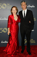 LOS ANGELES, CA, USA - DECEMBER 06: Kate Burton, Michael Ritchie arrives at The Music Center's 50th Anniversary Spectacular held at The Music Center - Dorothy Chandler Pavilion on December 6, 2014 in Los Angeles, California, United States. (Photo by Celebrity Monitor)