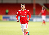10th October 2020; The County Ground, Swindon, Wiltshire, England; English Football League One; Swindon Town versus AFC Wimbledon; Tyler Smith of Swindon Town