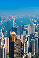 Hong Kong architecture from the Peak viewpoint