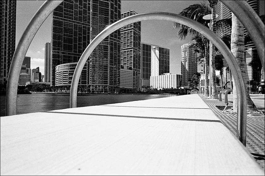 """Miami River<br /> From """"Miami in Black and White"""" series. Miami, FL, 2008"""