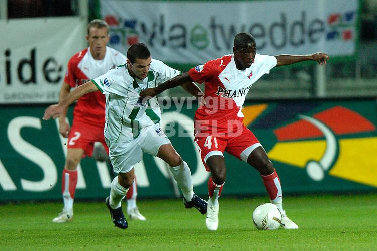 groningen - fc utrecht  eredivisie seizoen 2007-2008 14-09- 2007 george met metaj