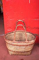 Dambwa Market basket in Livingstone, Zambia