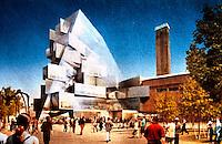 London:  Tate Modern--proposed expansion 2006.