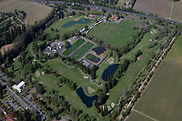 aerial photograph the Vinters Golf Club, Yountville, Napa County, California