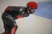 SPEEDSKATING: DORDRECHT: 06-03-2021, ISU World Short Track Speedskating Championships, SF 500m Men, Charles Hamelin (CAN), ©photo Martin de Jong