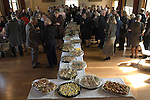 Mayoring Ceremony Winchelsea East Sussex 2015. Lunch provided in the New Hall by the incoming Mayor Dr John Spencer. 2015
