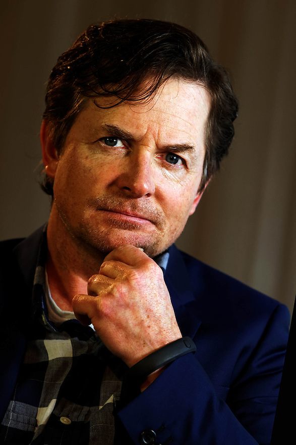 Actor Michael J. Fox pictured in New York City.