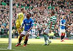 31.03.2019 Celtic v Rangers: Jermain Defoe