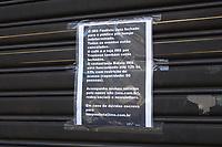 SÃO PAULO, SP, 18.03.2020 - COVID-19-SP - Instituto Moreira Salles suspende atividades por tempo indeterminado, para evitar a propagação do novo Coronavírus (COVID-19), na Avenida Paulista, em São Paulo, nesta quarta-feira, 18. (Foto Charles Sholl/Brazil Photo Press/Folhapress)