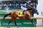 May 02, 2015: Private Zone and jockey Martin Pedroza win the 81st running of the Churchill Downs Grade 2 $500,000 at Churchill Downs for owner Good Friends Stable, and trainer Jorge Navarro. Candice Chavez/ESW/CSM
