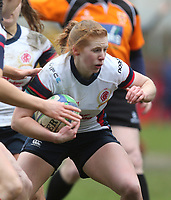 Tuesday 3rd April 2018 | Malone Women vs Ballynahinch Women<br /> <br /> Alison Boal during the Easter Tuesday Ulster Womens final between Malone and Ballynahinch at Kingspan Stadium, Ravenhill Park, Belfast, Northern Ireland. Photo by John Dickson / DICKSONDIGITAL