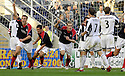 14/10/2006       Copyright Pic: James Stewart.File Name :jspa11_falkirk_v_st_mirren.ANTHONY STOKES CELEBRATES AFTER HE SCORES FALKIRK'S EQUALISER....Payments to :.James Stewart Photo Agency 19 Carronlea Drive, Falkirk. FK2 8DN      Vat Reg No. 607 6932 25.Office     : +44 (0)1324 570906     .Mobile   : +44 (0)7721 416997.Fax         : +44 (0)1324 570906.E-mail  :  jim@jspa.co.uk.If you require further information then contact Jim Stewart on any of the numbers above.........