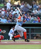 Cal Raleigh participates in the 2019 California League All-Star Game at San Manuel Stadium on June 18, 2019 in San Bernardino, California (Bill Mitchell)