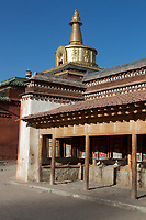 Labrang (Chinese Name - Xiahe) Monastery on the Qinghai-Tibetan Plateau. China.