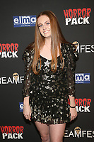 HOLLYWOOD, CA - OCTOBER 12: Clare Foley at the 21st Screamfest Opening Night Screening Of The Retaliators at Mann Chinese 6 Theatre in Hollywood, California on October 12, 2021. Credit: Faye Sadou/MediaPunch