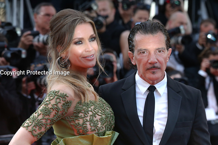 ANTONIO BANDERAS - RED CARPET OF THE 70TH ANNIVERSARY CEREMONY AT THE 70TH FESTIVAL OF CANNES 2017