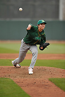 Beloit Snappers hurler Dakota Chalmers (28) in action during a game against the Cedar Rapids Kernels at Veterans Memorial Stadium on April 8, 2017 in Cedar Rapids, Iowa.  The Snappers won 7-6.  (Dennis Hubbard/Four Seam Images)