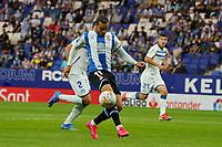 22nd September 2021: RCDE Stadium, Barcelona, Spain: La Liga Football, Espanyol versus Atletico Madrid;  Raul de Tomas goes forward to shoot and score for 1-0 in minute 53