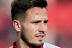 Saul Niguez Esclapez of Atletico de Madrid warms up prior to the La Liga 2017-18 match between Atletico de Madrid and Girona FC at Wanda Metropolitano on 20 January 2018 in Madrid, Spain. Photo by Diego Gonzalez / Power Sport Images