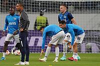 Mesut Özil (Fenerbahce Istanbul), Ferdi Kadioglu (Fenerbahce Istanbul) - Frankfurt 16.09.2021: Eintracht Frankfurt vs. Fenerbahce Istanbul, Deutsche Bank Park, 1. Spieltag UEFA Europa League