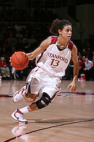 10 January 2008: Cissy Pierce during Stanford's 81-45 win over Oregon State at Maples Pavilion in Stanford, CA.
