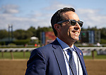 AUG 24: Jeff Bloom after winning the Personal Ensign Stakes at Saratoga Racecourse in New York on August 24, 2019. Evers/Eclipse Sportswire/CSM
