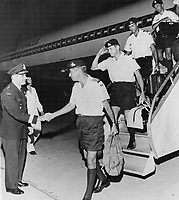 Homecoming of <br /> Brig-General Bertram Allison; Col James Norrow<br /> , from Vietnam.<br /> <br /> Griffin, Doug<br /> Picture, 1973