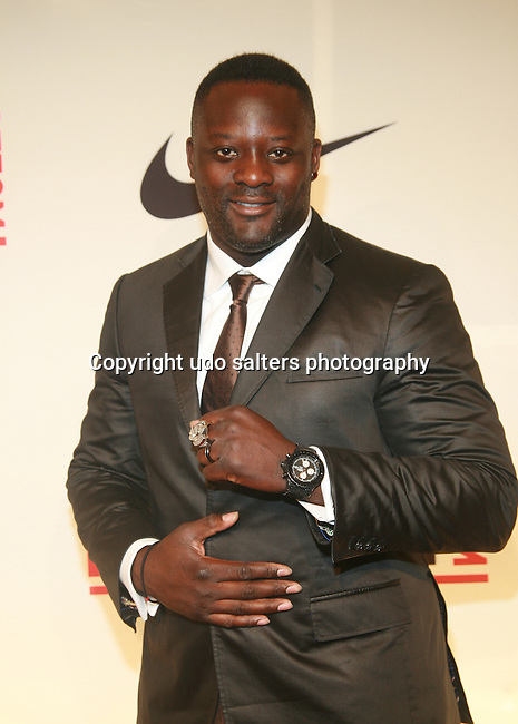"""NFL Player Jarvis Green Attends the NFL Players Association Rookie Debut<br /> """"One Team Celebration"""" Held at Cipriani Wall Street, NY  4/30/2011"""