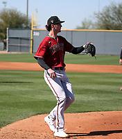 Ryne Nelson - Arizona Diamondbacks 2020 spring training (Bill Mitchell)