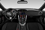 Stock photo of straight dashboard view of 2018 Toyota 86 GT 2 Door Coupe Dashboard