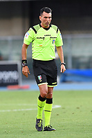 Referee Manuel Volpi during the Serie A football match between Hellas Verona and SS Lazio at stadio Marcantonio Bentegodi in Verona (Italy), July 26th, 2020. Play resumes behind closed doors following the outbreak of the coronavirus disease. <br /> Photo Daniele Buffa / Image Sport / Insidefoto