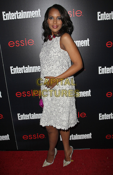 17 January 2014 - Los Angeles, California - Kerry Washington. Entertainment Weekly SAG Awards Pre-Party held at Chateau Marmont.  <br /> CAP/ADM/KB<br /> ©Kevan Brooks/AdMedia/Capital Pictures