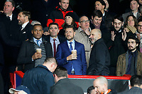 Crystal Palace owner Steve Parish and club ambassador Mark Bright seen during the Premier League match between Crystal Palace and Brighton and Hove Albion at Selhurst Park, London, England on 16 December 2019. Photo by Carlton Myrie / PRiME Media Images.
