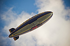 Sept. 22, 2012; The Goodyear Blimp flies over the stadium...Photo by Matt Cashore/University of Notre Dame