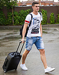 Spainsh Kepa Arrizabalaga  arriving at the concentration of the spanish national football team in the city of football of Las Rozas in Madrid, Spain. August 28, 2017. (ALTERPHOTOS/Rodrigo Jimenez)