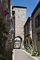 Europe/France/Midi-Pyrénées/32/Gers/La Romieu: Porte du village