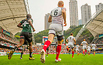 Russia play Zimbabwe on Day 2 of the Cathay Pacific / HSBC Hong Kong Sevens 2013 on 23 March 2013 at Hong Kong Stadium, Hong Kong. Photo by Manuel Queimadelos / The Power of Sport Images