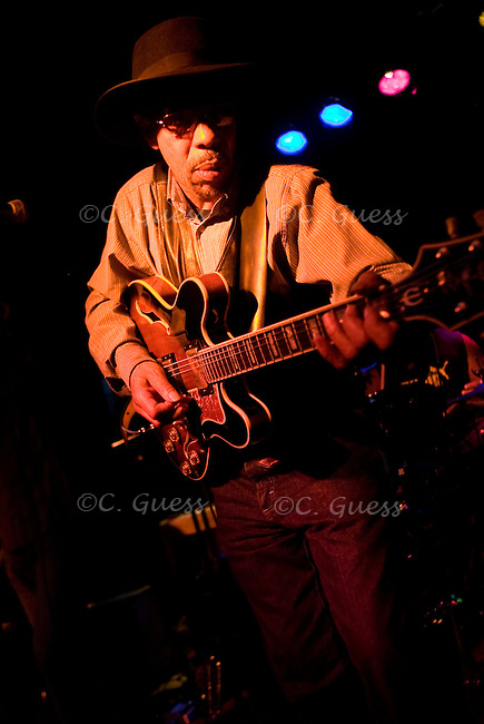 John Primer at the Frequency in Madison, Wis. on March 10, 2009 for Chicago Blues Tuesday