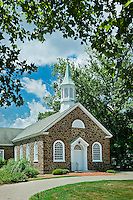 Quaint stone church, New Jersey, USA