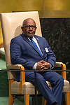 LOS general debate – 27 September<br /> <br /> PM<br /> <br /> His Excellency Azali ASSOUMANI President of the Union of the Comorost