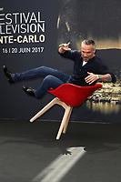 Philippe BAS - Photocall 'PROFILAGE' - 57ème Festival de la Television de Monte-Carlo. Monte-Carlo, Monaco, 17/06/2017. # 57EME FESTIVAL DE LA TELEVISION DE MONTE-CARLO - PHOTOCALL 'PROFILAGE'