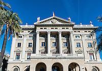Gobierno Militar building on Passeig de Colom in Barcelona, Spain