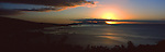 Sunset over Moorea, French Polynesia<br /> <br /> Image taken on large format panoramic 6cm x 17cm transparency. Available for licencing and printing. email us at contact@widescenes.com for pricing.