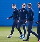 03.03.2020 Rangers training: James Tavernier