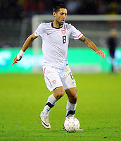 Clint Dempsey of team USA during the friendly match Belgium against USA at King Baudoin stadium in Brussel, Belgium on September 06th, 2011.