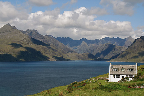 The Cullins of Skye provided a superb objective for what proved to be Kelpie's last cruise