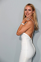 CAP D'ANTIBES, FRANCE - JULY 16: Kimberley Garner  at the amfAR Cannes Gala 2021 during the 74th Annual Cannes Film Festival at Villa Eilenroc on July 16, 2021 in Cap d'Antibes, France. <br /> CAP/GOL<br /> ©GOL/Capital Pictures