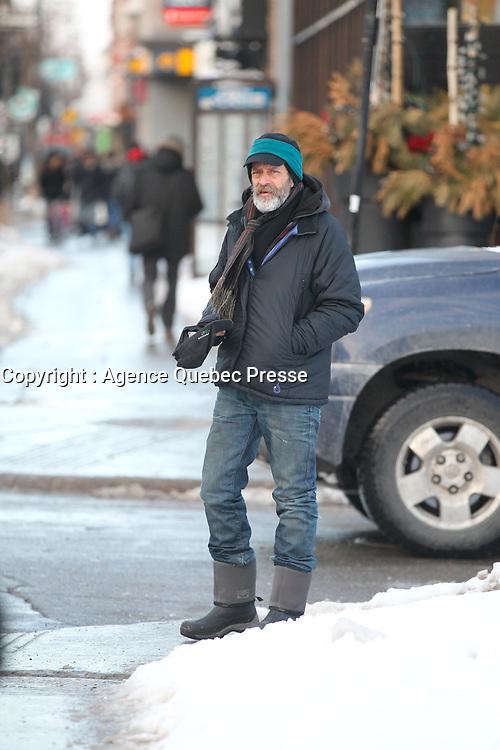 Ittinerant au centre ville de Montreal, 2015