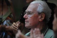 """Jean Hebette<br /> <br />  ComemoraÁ""""o pelos 20 anos do jornal Pessoal do jornalista L˙cio Fl·vio Pinto na UFPa.BelÈm, Par·, Brasil.2008Foto Paulo Santos"""
