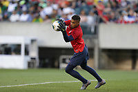 PHILADELPHIA, PENNSYLVANIA - JUNE 30: Zack Steffen #1 during the 2019 CONCACAF Gold Cup quarterfinal match between the United States and Curacao at Lincoln Financial Field on June 30, 2019 in Philadelphia, Pennsylvania.